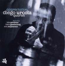 Diego Urcola (geb. 1965): Appreciation, CD