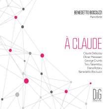 Benedetto Boccuzzi - A Claude, CD