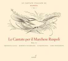 Georg Friedrich Händel (1685-1759): Italienische Kantaten II, CD