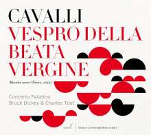 Francesco Cavalli (1602-1676): Vespro della beata Vergine, 2 CDs