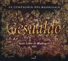 Carlo Gesualdo von Venosa (1566-1613): Madrigale Buch 6, CD