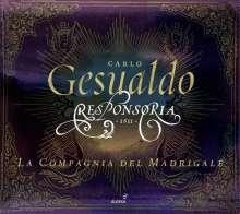 Carlo Gesualdo von Venosa (1566-1613): Responsorien zur Karwoche (1611), 3 CDs