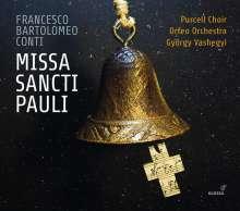 Francesco Bartolomeo Conti (1681-1732): Missa Sancti Pauli, CD