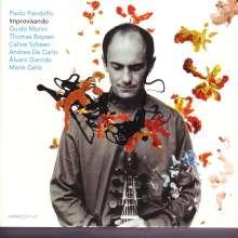"""Paolo Pandolfo: Kammermusik """"Improvisando"""", CD"""