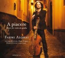 Fahmi Alqhai - A Piacere, CD
