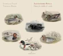 Alessandro Rolla (1757-1841): Duetti op.9 & op.13 für Violine & Viola, CD