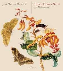 """Silvius Leopold Weiss (1687-1750): Lautenwerke """"Ars Melancholiae"""", CD"""