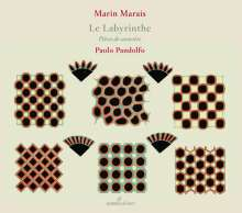 Marin Marais (1656-1728): Pieces de Violes - Le Labyrinthe, CD