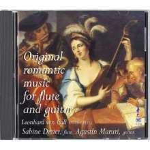 Leonhard von Call (1779-1815): Serenaden für Flöte & Gitarre opp.19 & 132, CD