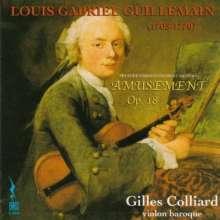 Louis-Gabriel Guillemain (1705-1770): Amusement op.8 für Violine solo, CD