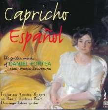 """Daniel Fortea (1878-1953): Gitarrenwerke """"Capricho Espanol"""", CD"""