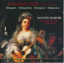 "Fernando Sor (1778-1839): Gitarrenwerke ""Minuets"", CD"