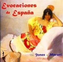 Musik für Cello & Gitarre - Evocaciones de Espana, CD