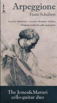The Jones&Maruri Cello-Guitar Duo, CD