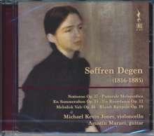 Söffren Degen (1816-1885): Werke für Cello & Gitarre, CD
