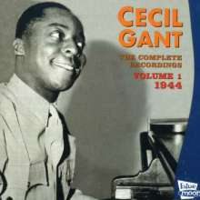 Cecil Gant: The Complete Recordings Vol. 1, CD