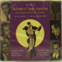Valses Y Milongas Vol. 12, CD