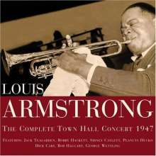 Louis Armstrong (1901-1971): The Complete Town Hall Concert 1947, CD