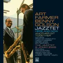 Art Farmer & Benny Golson: Here And Now / Antother Git Together / The Jazzet & John Lewis, 2 CDs