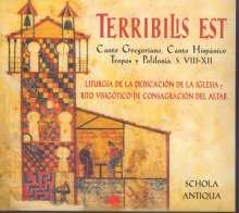 Terribilis Est, CD