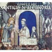 Alfonso el Sabio (1223-1284): Cantigas de Alejandria, CD