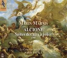 """Marin Marais (1656-1728): Suiten Nr.1-4 aus """"Alcione"""", Super Audio CD"""