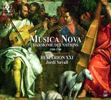 Musica Nova - Harmonie des Nations 1500-1700, Super Audio CD