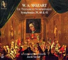 Wolfgang Amadeus Mozart (1756-1791): Symphonien Nr.39-41, 2 Super Audio CDs