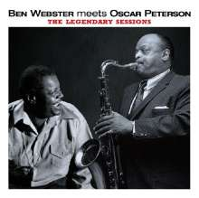 Oscar Peterson & Ben Webster: The Legendary Sessions, 2 CDs