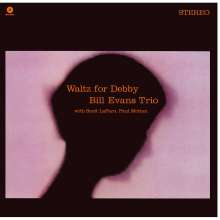 Bill Evans (Piano) (1929-1980): Waltz For Debby (remastered) (180g) (Limited-Edition), LP