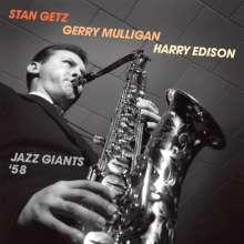 Stan Getz, Gerry Mulligan & Harry Edison: Jazz Giants '58, CD