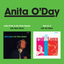 Anita O'Day (1919-2006): Anita O'Day & The Three Sounds / Time For 2, CD