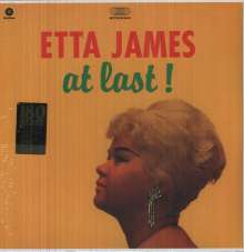 Etta James: At Last! + 4 Bonustracks (180g) (Limited-Edition), LP