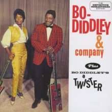 Bo Diddley: Bo Diddley & Company / Boo Diddley's A Twister, CD