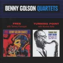 Benny Golson (geb. 1929): Free / Turning Point, CD