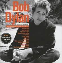 Bob Dylan: Bob Dylan (Debut Album) (+12 Bonustracks), CD