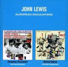 John Lewis (1920-2001): European Encounter / Animal Dance, CD