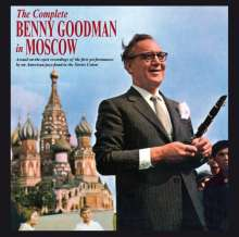 Benny Goodman (1909-1986): The Complete Benny Goodman In Moscow, 2 CDs