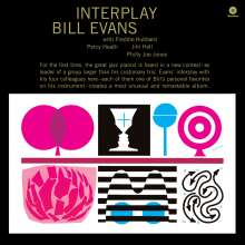 Bill Evans (Piano) (1929-1980): Interplay (+ 2 Bonustracks) (remastered) (180g) (Limited Edition), LP