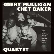 Gerry Mulligan & Chet Baker: Gerry Mulligan & Chet Baker Quartet (remastered) (180g) (Limited Edition) (+ 9 Bonustracks), LP