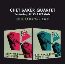 Chet Baker & Russ Freeman: Cool Baker Vol. 1 & 2 + 4 Bonustracks, CD