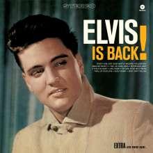 Elvis Presley (1935-1977): Elvis Is Back (180g) (Limited Edition) (+4 Bonus Tracks), LP