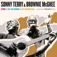Sonny Terry & Brownie McGhee: Sing + Get On Board + At Sugar Hill + 9 Bonustracks, 2 CDs