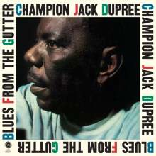 Champion Jack Dupree: Blues From The Gutter (180g) (Limited-Edition) (+2 Bonustracks), LP