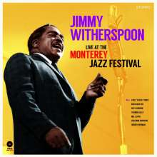 Jimmy Witherspoon: Live At The Monterey Jazz Festival (180g) (Limited Edition) (+ 2 Bonustracks), LP