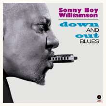 Sonny Boy Williamson II.: Down And Out Blues (+4 Bonus Tracks) (180g) (Limited-Edition), LP