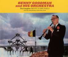 Benny Goodman (1909-1986): The Complete Benny In Brussels, 3 CDs