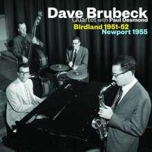 Dave Brubeck (1920-2012): Birdland 1951-52 / Newport 1955 (Limited Edition), CD