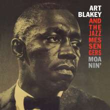 Art Blakey (1919-1990): Moanin' (180g) (Limited Edition) (Red Vinyl), LP
