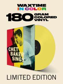 Chet Baker (1929-1988): Sings (Reissue 1956) (180g) (Limited Edition) (Yellow Vinyl) (Waxtime Edition), LP